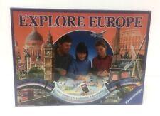 Vintage 1992 Ravensburger EXPLORE EUROPE Board Game Brand New & Sealed