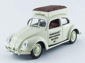 Rio 4403 - Volkswagen VW Ambulance - Pompier de Wolfsburg - 1950   1/43