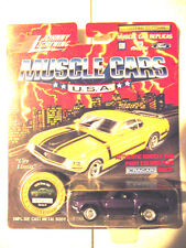 Johnny Lightning JL 1970 Purple Boss Mustang Die Cast Super Sharp Car!