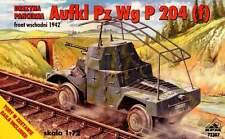 AUFKL.PZ.WG. P 204 RAILWAY ARMOURED CAR (GERMAN WEHRMACHT MARKINGS) 1/72 RPM