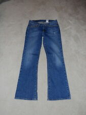 LUCKY BRAND BILLIE MID RISE SWEET N LOW FLARE STRETCH JEANS SIZE 27 SHORT INSEAM