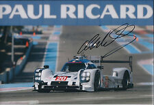 Mark WEBBER Signed Autograph Photo AFTAL COA PORSCHE Hybrid World Endurance