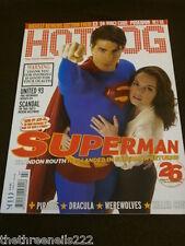 HOTDOG #77 - BRANDON ROUTH SUPERMAN - JULY 2006