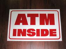 General Business Sign: ATM INSIDE
