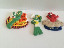 (3) GUMBY REFRIGERATOR MAGNETS (NEW)