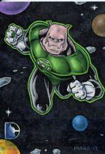 Cryptozoic DC The New 52 Sketch Card By Tony Perna