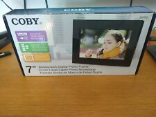 "Coby 7"" Widescreen Digital Photo Frame new in box"