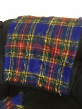 Luxury Mohair Tartan Blanket Throwsx 2