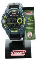 Coleman Men's 40673 Digital Dual Time Sport Watch water resistant new in box