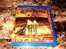 Alter Bridge Signed Blu-Ray CD Live at Wembley Myles Kennedy Mark Tremonti Creed