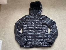 UNITED COLORS OF BENETTON Soft Light Down Puffer Jacket Black Size UK 12