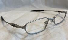 Genuine Oakley Box Spring 2.0 142 Silver 11-749 52[]19 Eyeglasses Frames Only