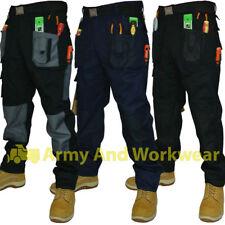Blackrock Baratec Work Wear Trousers Multi Pocket Trade Pro Pants Triple Stitch