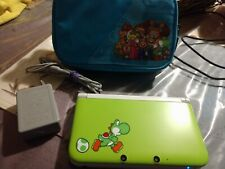 Nintendo 3DS XL Yoshi Edition  CFW Modded W/ 100 3ds Games and virtual games