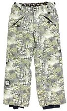 Ride Snowboards Plaid Ikat Herringbone Cargo Ski Pants - Womens XL Extra Large