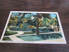 VINTAGE - MOTHER'S GARDEN OF REMEMBRANCE - VINELAND NEW JERSEY - POSTCARD