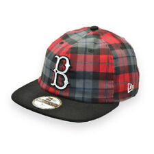 NEW ERA BOSTON RED SOX 19TWENTY MLB PLAID SAMPLE BASEBALL CAP