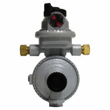 Fairview RV Camper LP / Propane 2 Stage Gas Regulator, Auto Changeover (Small)