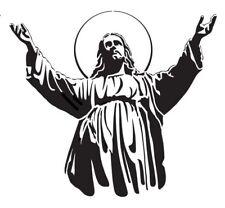 high detail airbrush stencil jesus seven FREE UK POSTAGE