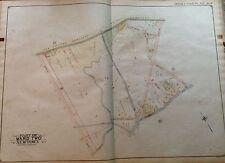 ORIGINAL 1908 E. BELCHER HYDE MASPETH LAUREL HILL QUEENS NY PLAT ATLAS MAP