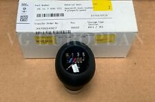 BMW Genuine E46 3-Series Black Leather W/ 5-Speed M Emblem Shift Knob Heavy NEW!