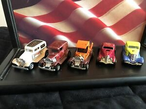 LOT OF 5 Vintage Hot Wheels Toys Trucks Carriers Transport