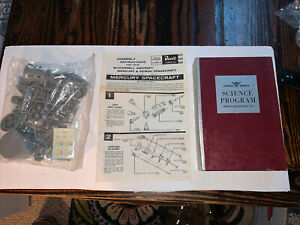 Vintage 1964 Revell  Mercury & Gemini 1/48 Mail Order Model With Instructions
