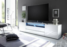 Vicenza 203 - white Lowboard TV Stand / tall tv stands for flat screen
