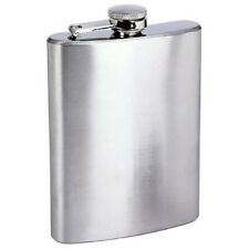 New 6oz Stainless Steel Liquor Hip Flask Screw Cap * US FREE SHIPPING *
