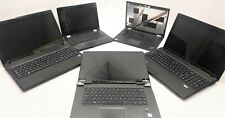 Lenovo Mixed Lot of 5 Parts and Repair Laptops (See detailed description)