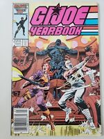 G.I. JOE YEARBOOK #3 (1987) MARVEL COMICS MIKE ZECK COVER! HTF NEWSSTAND VARIANT