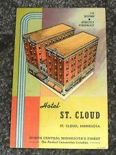 1940's Hotel St Cloud, St Cloud, Minnesota Vintage Postcard