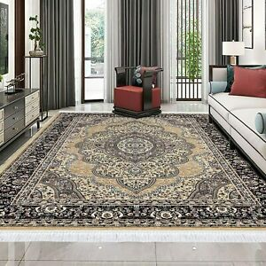 New Soft Classic Traditional Style Area Rug Carpet For bed room & Living room