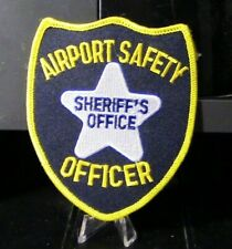Retired Patch: Airport Safety Officer, Sheriff's Office (Vermont) Patch