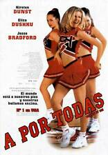 BRING IT ON Movie POSTER 11x17 Spanish Kirsten Dunst Eliza Dushku Jesse Bradford