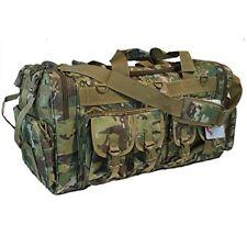 "X-Large Gun Range Bag Green Camo Pistol Ammo Storage Luggage 30"" Sports Duffle"