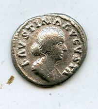 Moneda ROMANA ANTIGUA PLATA DENARIO FAUSTINA Junior ad 175