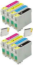 10 inchiostri per Epson Stylus R240 R245 RX420 RX425 RX520