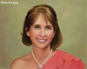 Custom Portrait Oil Painting from Photo, Photo to oil Painting,100% Handmade