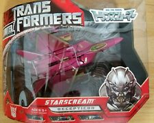 Takara Transformers Movie Limited HD-DVD Vardia Voyager Starscream MISB Red,Gold