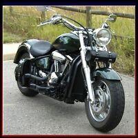 MOTORCYCLE MOTORBIKE GENUINE LEATHER TOOL ROLL SADDLE BAG