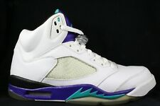 2006 Nike Air Jordan 5 V Retro Grape Concord Aqua size 10