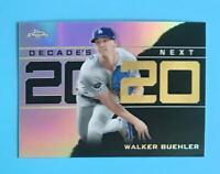 2020 Topps Chrome Update Walker Buehler Decade's Next Los Angeles Dodgers DNC-14