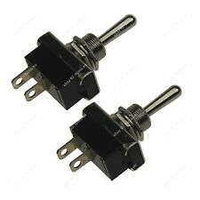 2PCS Switch Car Accessories Rocker Toggle Switch SPST ON/OFF for Car Motorcycle