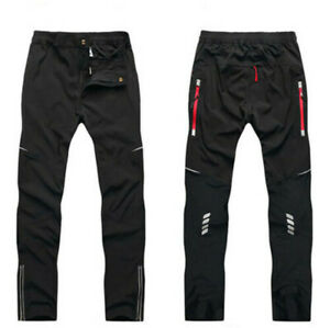 Men's Sport Pants Cycling Pants Trousers Reflective Riding MTB Bike Outdoor Move