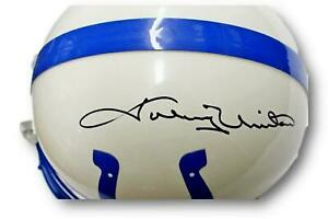 Johnny Unitas Signed Colts Full Size Helmet Riddell Autographed PSA/DNA AH51009