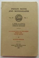 Indians Notes And Mongraphs  1948