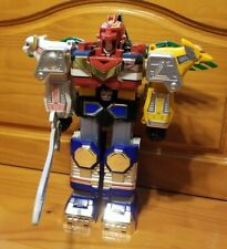Power Rangers Lost Galaxy Megazord Action Figure & Sword (Bandai, 1998) No Horns