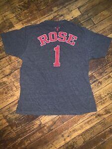 Women's Size Large Derek Rose Chicago Bulls Tshirt