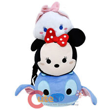 "Disney Tsum Tsum Plush Doll Backpack 20"" Costume Bag Stitch Minnie Bag"